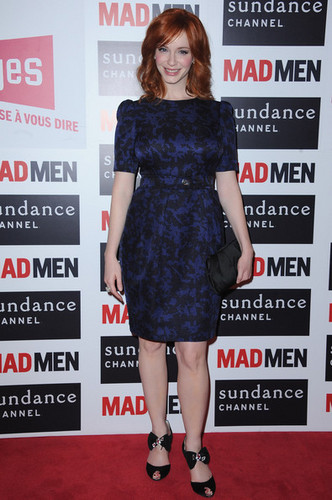 Christina Hendricks - 'Mad Men' Photocall And Masterclass At fórum Des imagens