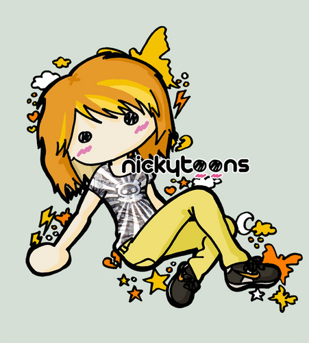 Hayley Williams cute nickytoon :)