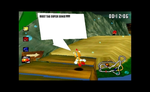 REAL SONIC R SCREENSHOT!