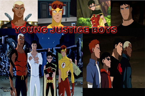 YOUNG JUSTICE Bilder