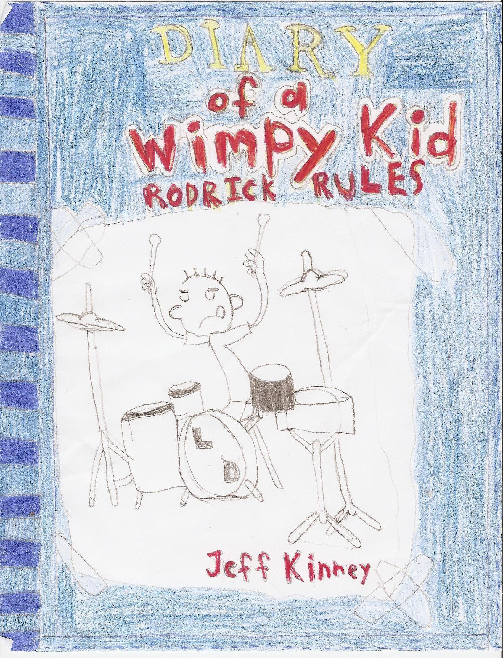 Diary Of A Wimpy Kid Book Cover Diary Of A Wimpy Kid Fan Art
