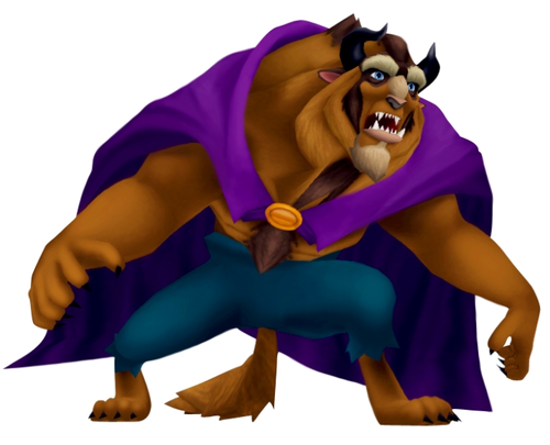 The Beast in Kingdom Hearts