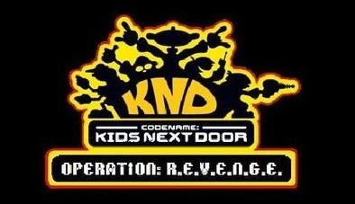 codename kids siguiente door operation revenge logo