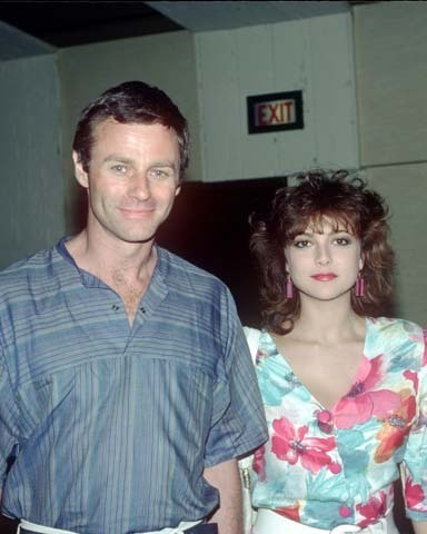 Emma and Tristan at the GH shabiki Club Luncheon in the early 1980's.