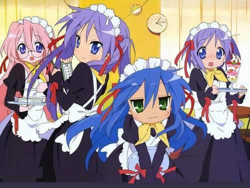 Lucky star, sterne Wallpaper!!! Maids
