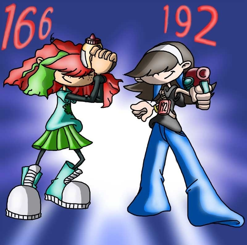 Numbuh 166 and Numbuh 192