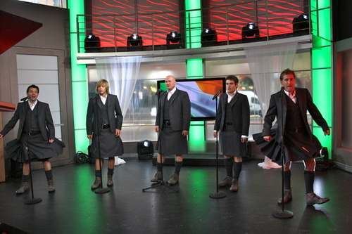 "Performing on ""The Morning Show"", Channel 7 early today!"
