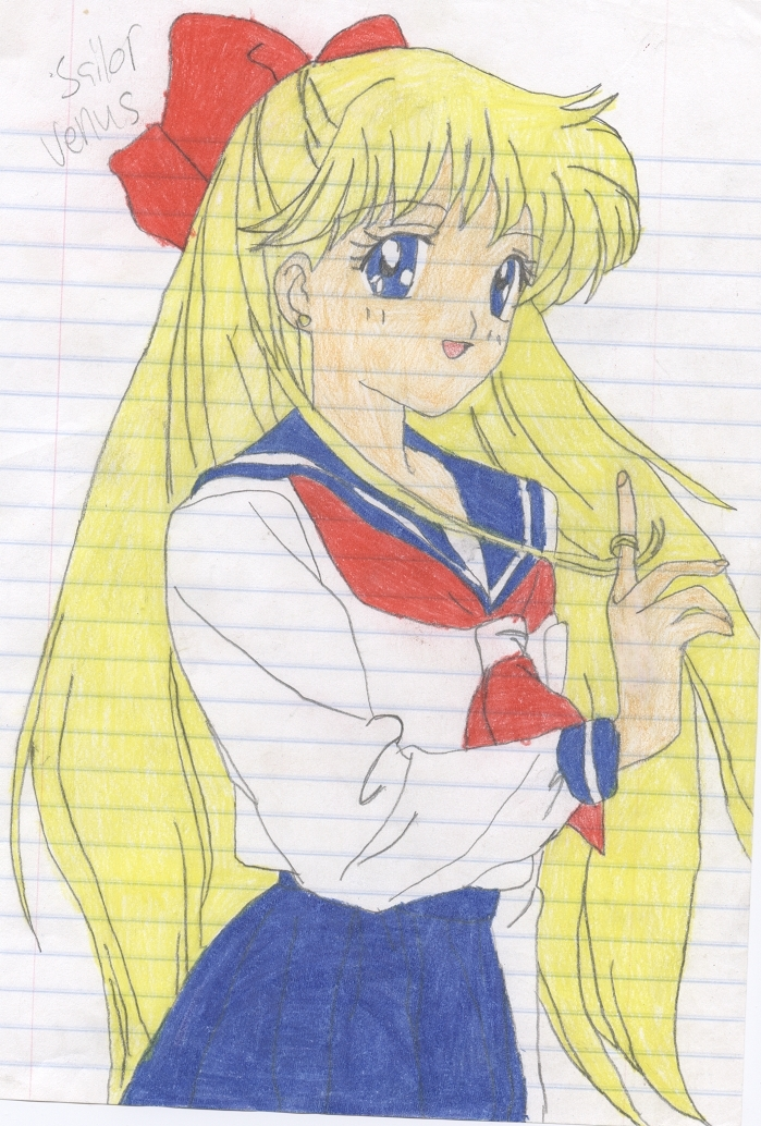 Sailor V XD anime drawing 20569744 699 1034
