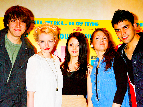 Skins(スキンズ) cast - generation 3 (+ Kathryn/Megan Prescott)