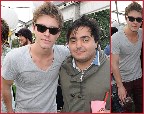 Xavier Samuel at 2011 Free Optus One80Project Festival