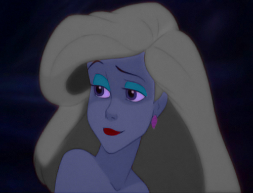 Ariel with Ursula's color scheme