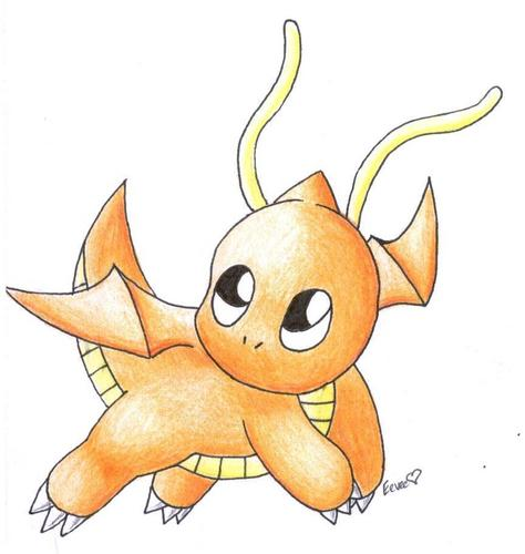 Cute dragonite