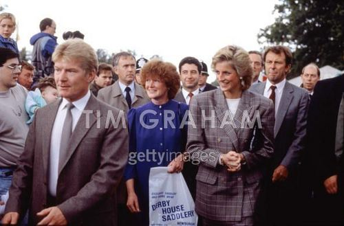 Diana At Burghley Horse Trials