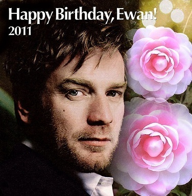 Happy 40th Birthday Ewan !