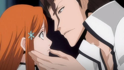 Orihime and Aizen
