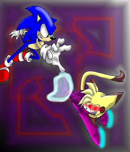 Sonic and Tibs(new look)