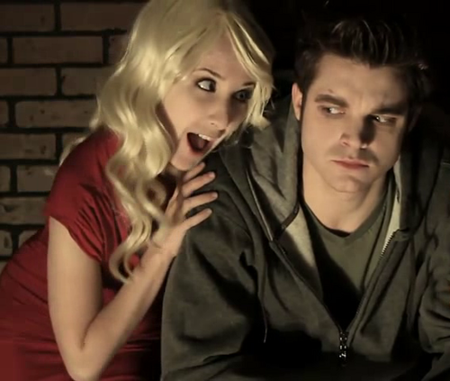 "Stefan & Caroline Of ""The Vampire Diaries Parody"" By The Hillywood Показать ♥"