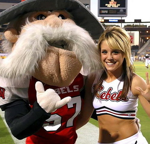 UNLV cheerleader