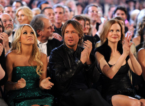 4/3/11 - Academy Of Country Music Awards - Backstage/Audience