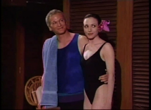 "Bebe Neuwirth and James Morrison ""Frasier"""