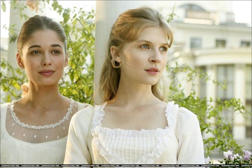 Clemence as Natasha Rostova - War and Peace