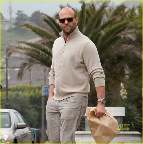Jason Statham Brown Bags It