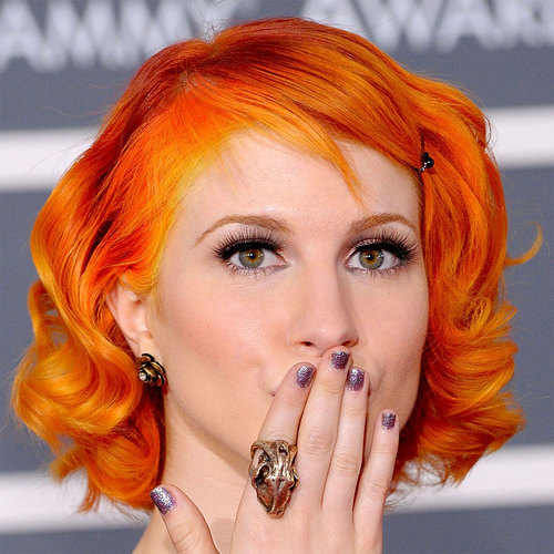 Short Bright Orange Hair