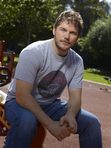 Chris Pratt- Season 3 Cast fotografia