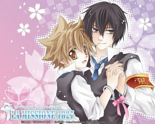 Hibari and Tsuna