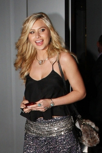 Leaving BOA Steakhouse - 04.06.11