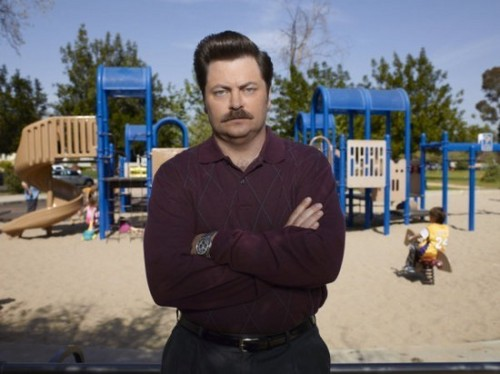 Nick Offerman- Seaon 3 Cast 写真
