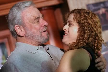 Sondheim and Bernadette Peters