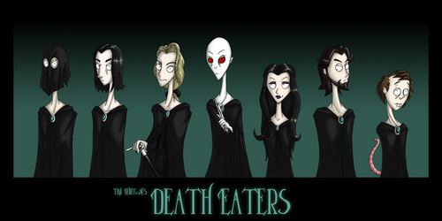 Tim Burton's Death Eaters