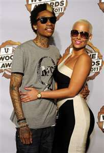 amber and her boo wiz =)