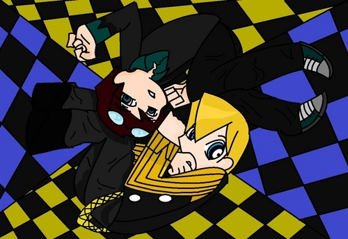 kowalski and private panty and stocking style XD