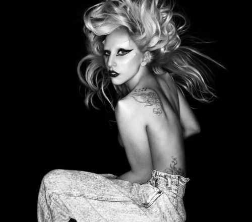 """Born This Way"" photoshoot sa pamamagitan ng Nick Knight"
