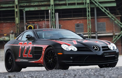 MERCEDES - BENZ SLR BLACK Стрела BY EDO COMPETITION