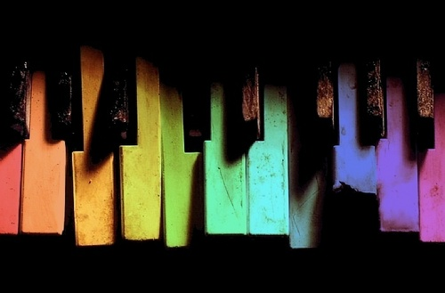 Old قوس قزح PIano