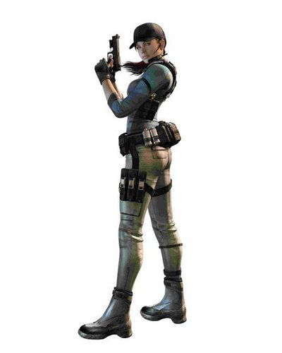 Resident Evil: The Mercenaries 3D Character Art