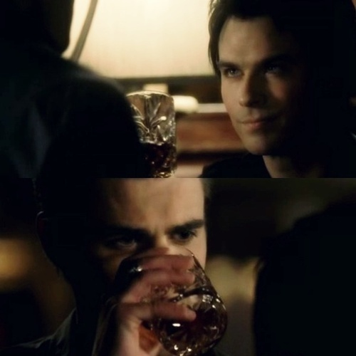 The Salvatore Bros. drinking