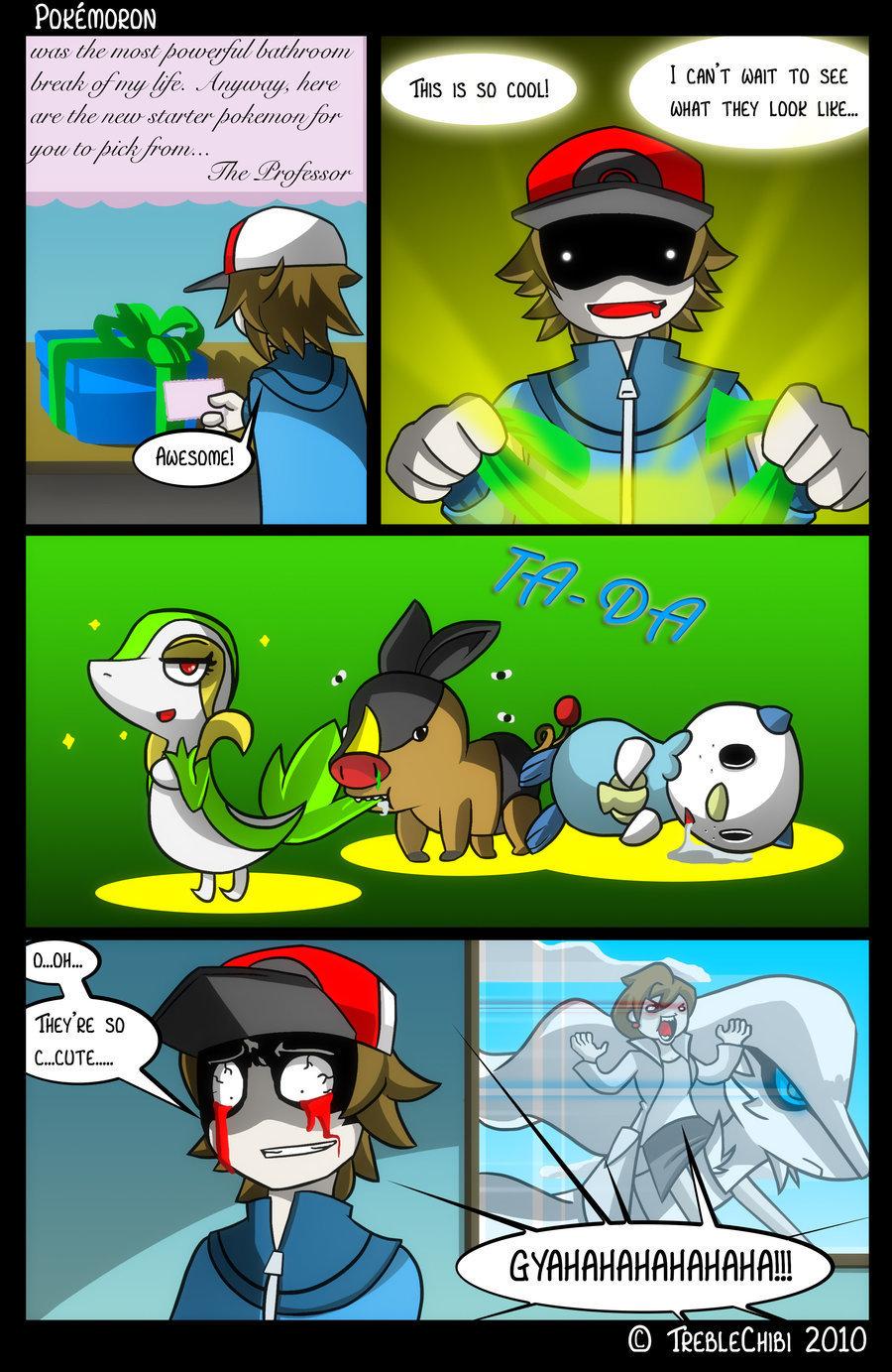 Funny Pokemon Black And White Comics pokemon black & white - pok�mon fan art (20969530) - fanpop