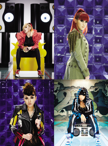 2NE1 CAN´T NOBODY MV