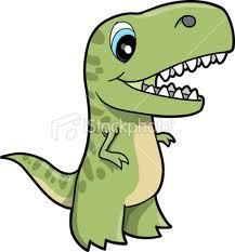 Awwww, isn't this T-rex so cute