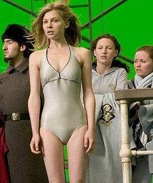 Fleur Delacour سیکنڈ task in goblet of آگ کے, آگ
