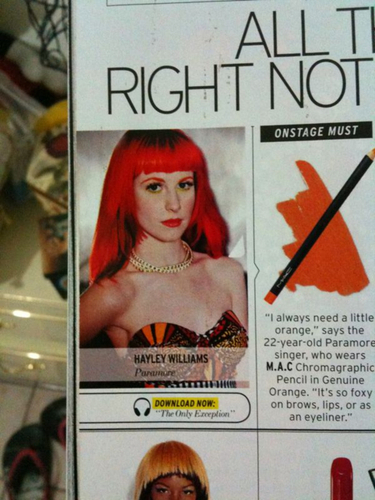 Hayley Williams in Elle