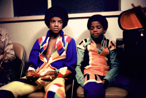 Michael and his lil' brother Randy! A very cute pair lol! :)