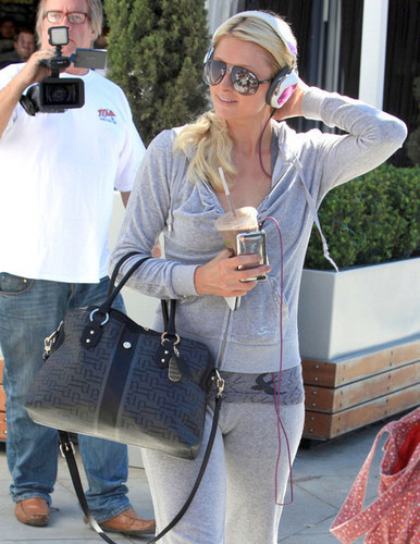 Paris Hilton Leaving The Equinox Gym In West Hollywood