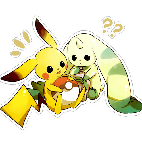 Pikachu and Terriermon