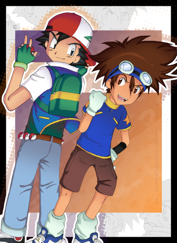 Tai and Ash, born leaders