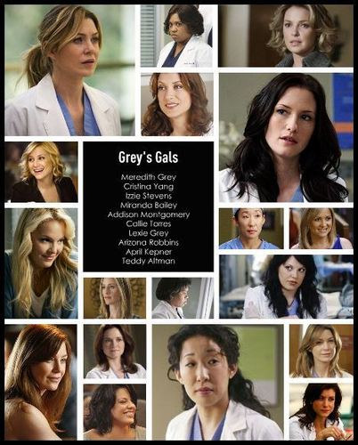 The Ladies of Grey's Anatomy